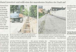 SKS2-Zeitungsartikel-SW-Kanalbau-2020